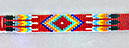 Example of Native American Loomed Beadwork
