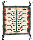 example of Navajo Tree of Life rug